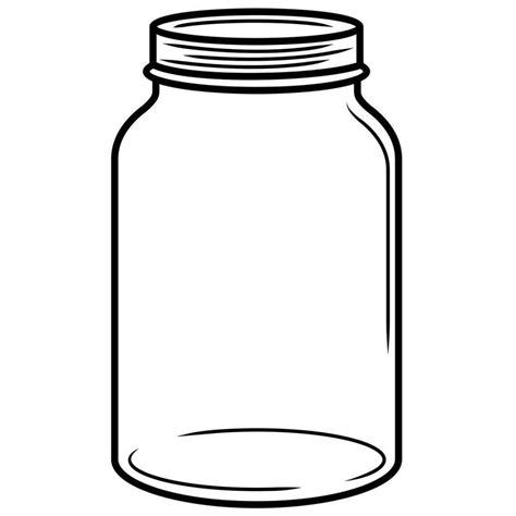 Clear Jar Skydrop Smart Sprinkler Controller Jar Coloring Page