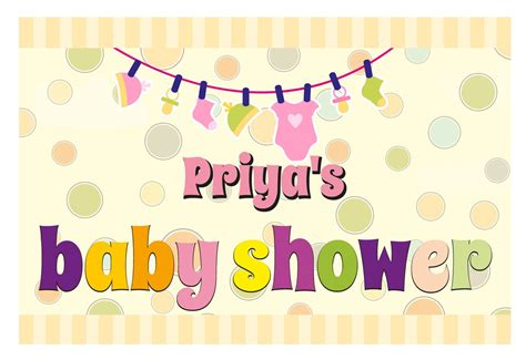Custom Baby Shower Banners by Baby Shower Banner Personalized Banners Baby Shower