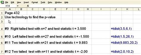 pattern of distribution test exle how to find a p value with excel 171 microsoft office