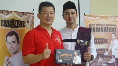 Sarung Di Carrefour Jelang Ramadan Raffi Ahmad Launching Sarung Rahmad