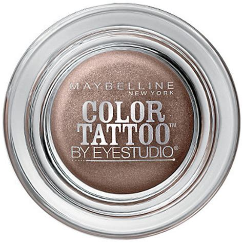 maybelline color tattoo bad to the bronze eye studio color eyeshadow ulta