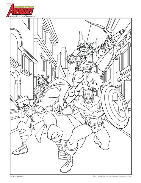 avengers coloring pages thor free coloring pages of thor avenger