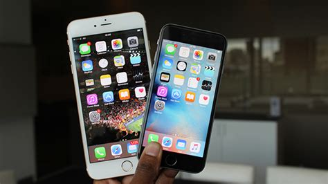 iphone 6s plus vs iphone 6s what s the difference trusted reviews