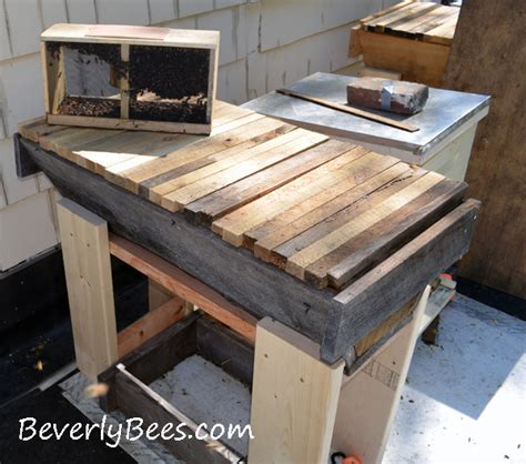 how to install a bar top how to install package bees in a top bar hive beverly bees