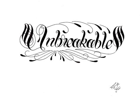 unbreakable by creativecursekina on deviantart