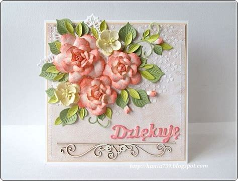 Paper Flowers For Greeting Cards - 1800 best images about cards floral roses on
