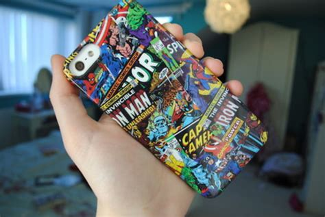Marvel Casing Iphone 5 phone cover phone cover marvel superheroes marvel