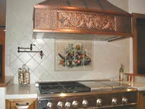 Murals For Kitchen Backsplash cornucopia tile mural really go well with this tile mural backsplash