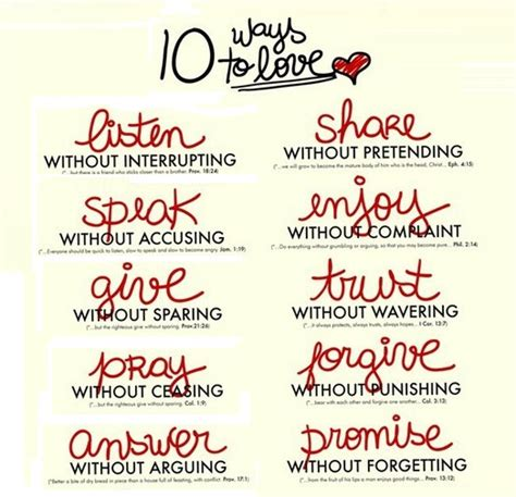 10 ways to love bible 10 ways to love quotes photo 35465770 fanpop