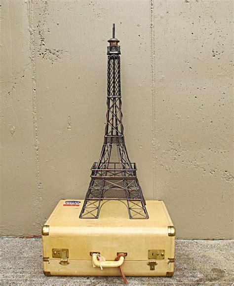 Jam Dinding Jumbo Eiffel Vintage large vintage metal eiffel tower