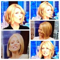 how to fix my hair like kelly ripa 1000 images about bob hairstyles on pinterest kelly