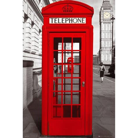 Telephone Box telephone box in uk symbols lesson 0 traditional places and