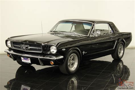 1964 1 2 ford mustang k code coupe numbers matching 289 k