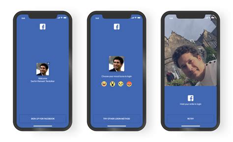 facebokk mobile mobile app login screen redesign a ux study