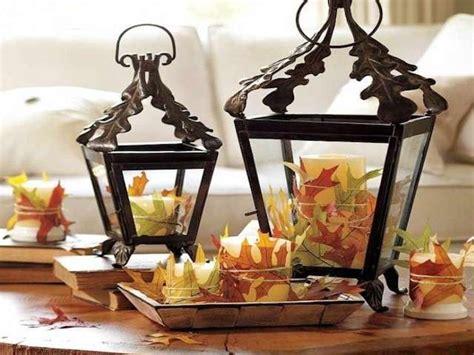 lanterne candele decorazioni d autunno per la casa foto design mag