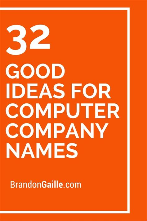 themes for computer names 32 good ideas for computer company names ideas good