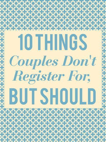 25  best ideas about Bridal registry on Pinterest