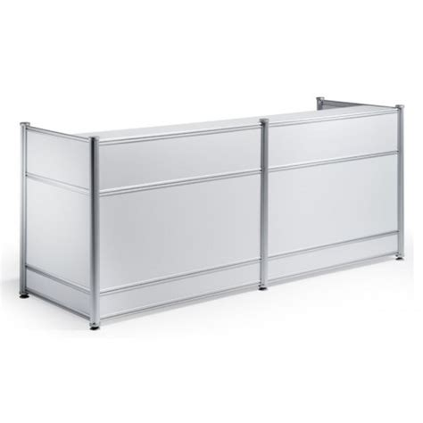 high reception desk high gloss reception desk white office desks uk