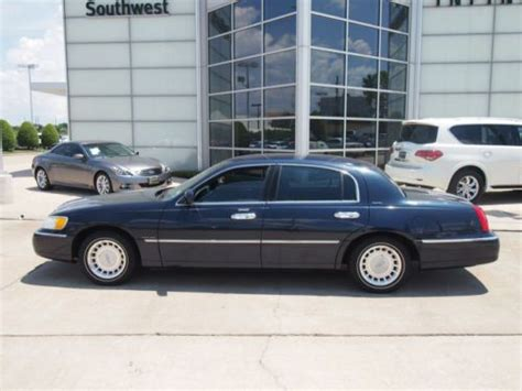 electronic stability control 1999 lincoln town car free book repair manuals purchase used 4 6l sunroof stability control electronic impact sensor fuel cut off suspension in