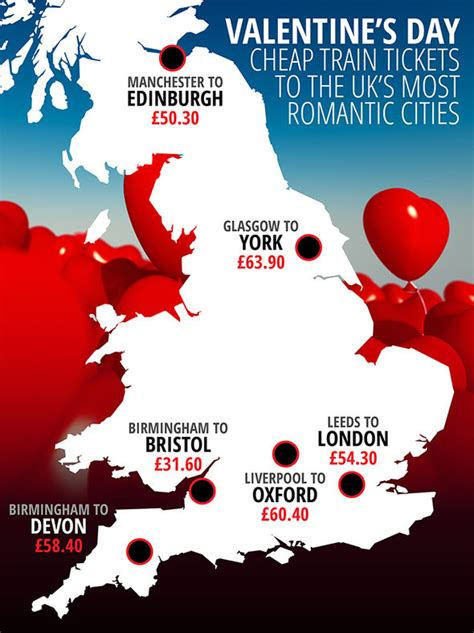 valentines day travel s day 2017 cheap tickets to the uk s most