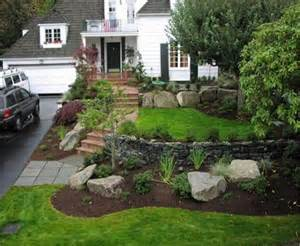 front entry landscape installation environmental