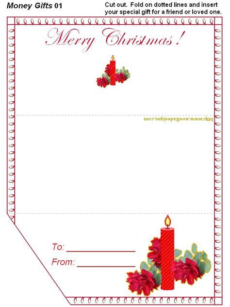 printable christmas money cards free printable christmas money holders money holders