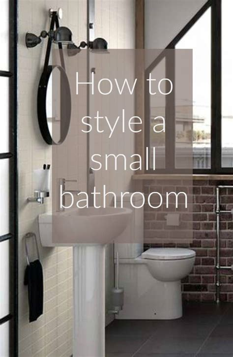 bathroom styling how to style a small bathroom thrifty home
