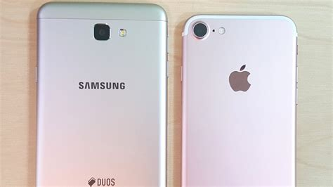 samsung galaxy j7 prime vs iphone 7
