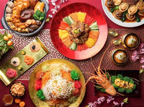 new year 2018 singapore food best cny reunion dinners for new year 2018 in