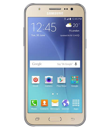 Samsung J500 1 5 Ram 8gb samsung j500 8gb golden price in india buy samsung j500