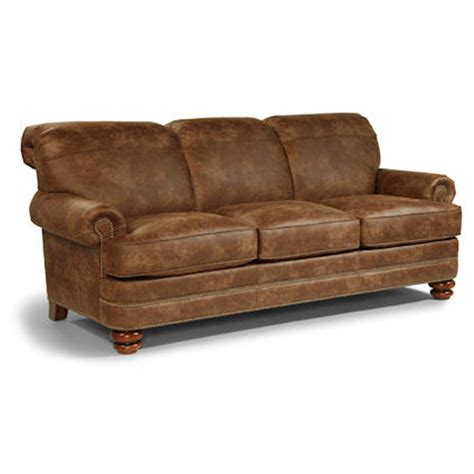 flexsteel n7791 31 bay bridge sofa discount furniture at