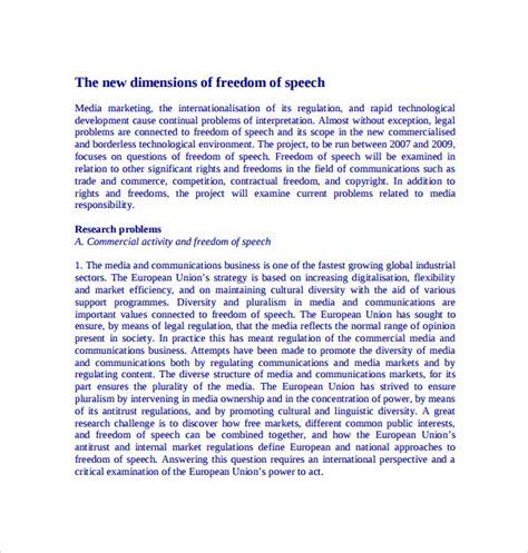 Freedom Of Speech Essay Ideas by Sle Essay Freedom