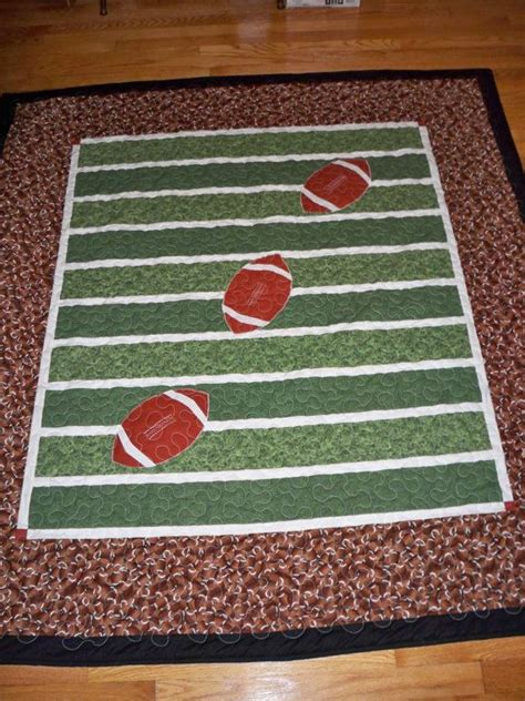 Football Quilts by 25 Best Ideas About Football Quilt On Quilt