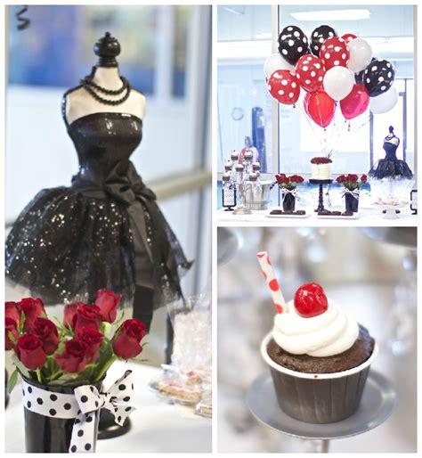 party themes classy kara s party ideas black white red elegant birthday party