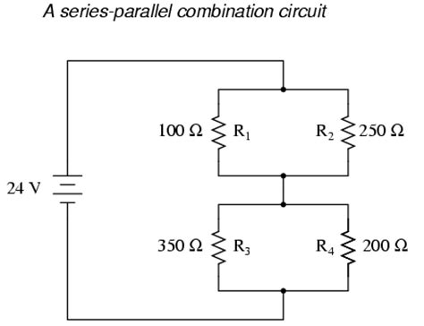 resistor circuit combination analysis technique