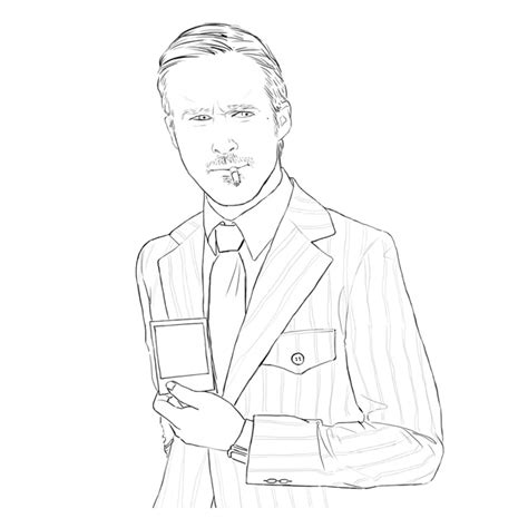 printable coloring pages ryan gosling printable best free coloring pages