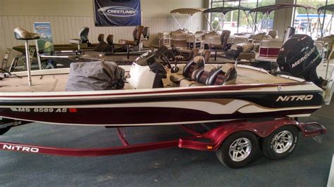 nitro bass boat rough water nitro 929 cdx boats for sale