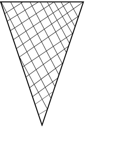empty ice cream cone coloring page pattern template category page 46 sawyoo com