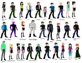 gallery gt ben 10 characters names
