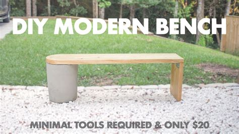 make concrete bench 20 diy modern concrete and 2x12 wood bench very easy to
