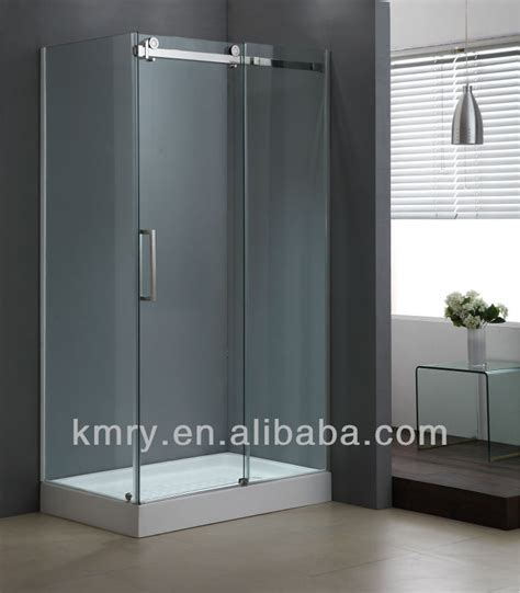 Shower Door Manufacturers South Africa by Rectangle Sliding Roller Hardware 10mm Glass Frameless