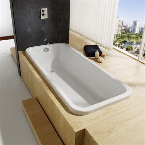 baignoire encastrer baignoire 224 encastrer 180x80 cm acrylique blanc roca