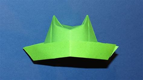 How To Make A Top Hat With Paper - origami hat top hats and origami on