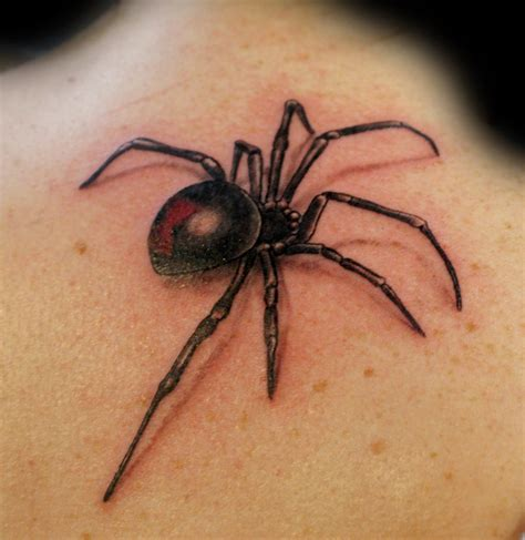3d spider tattoo spider by uken on deviantart