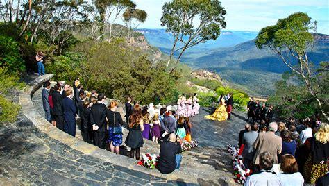 leura weddings blue mountains  south wales nsw