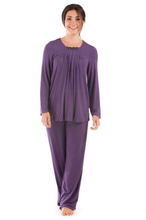 Most Comfortable Womens Pajamas by Womens Pajama Set Tranquility Texere Bamboo Viscose Eco