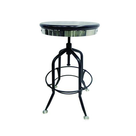 yosemite home decor adjustable mango wood bar stool in