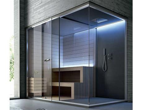 sauna con doccia sauna con doccia per cromoterapia ethos sauna per