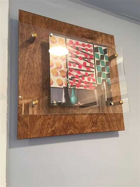picture frame alternatives wood floating display frames in the kitchen vidadiy home