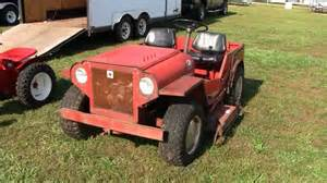 Rancher Home Plans rare mini jeep roof palomino lawn tractor youtube